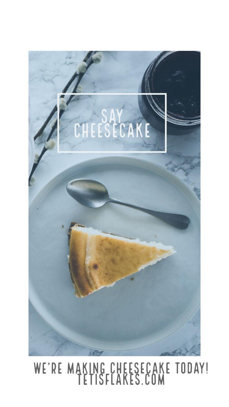 The ultimate cheesecake recipe! #newyorkcheesecake #cheesecake #cake #dessert #bakedcheesecake