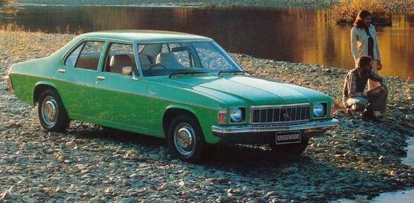 Holden HX Kingswood Australia 1976
