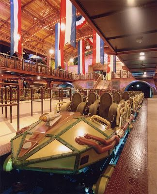 """The Disneyland Paris Space Mountain""""  ride """"from the earth to the moon"""" was a big hit from opening day in 1995  at that time was the fastest ride in any Disney theme park."""