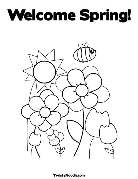 garden coloring pages preschool - photo#15