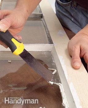 How to Glaze a Window (Single Pane)   The Family Handyman