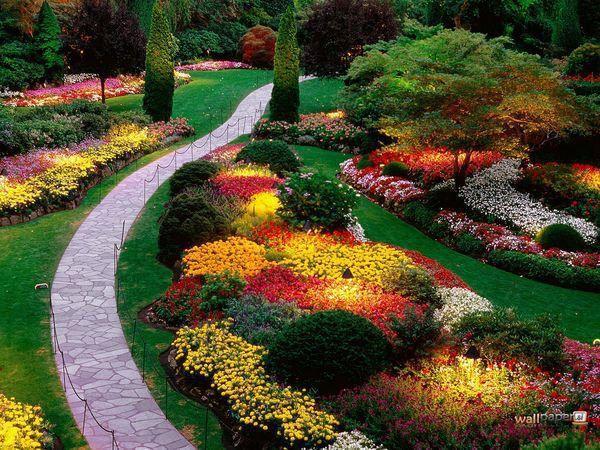 Butchart Gardens, Canadá