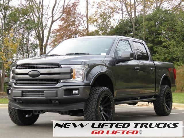 Lifted Trucks New Lifted 2018 Ford F150 Lariat Sherrod Truck Ford F150 Lariat Ford Trucks F150 2018 Ford F150