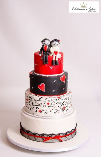 20 Wedding Cakes parfaits pour Halloween ! Image: 18