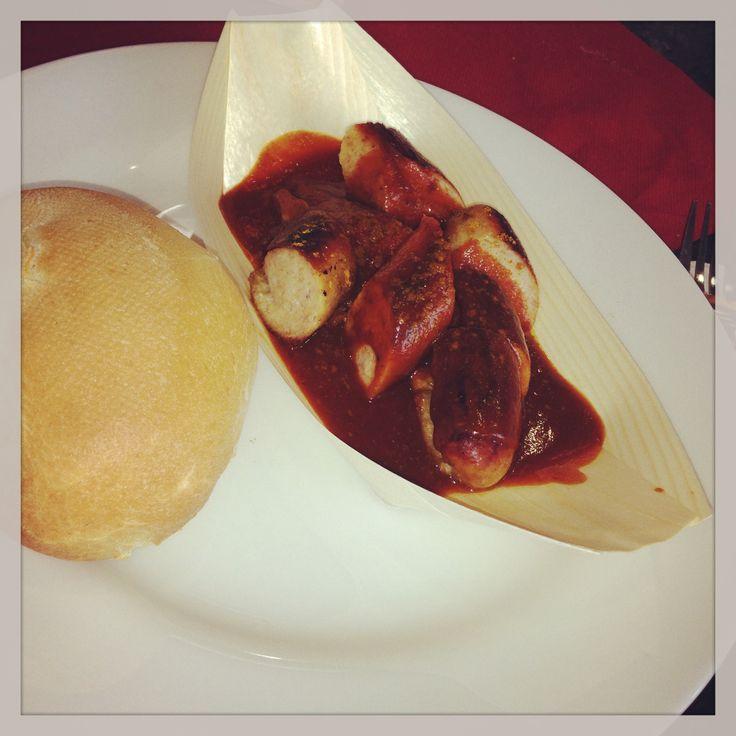 Käfer Currywurst der Neuen Messe München  #Currywurst #Verkostung