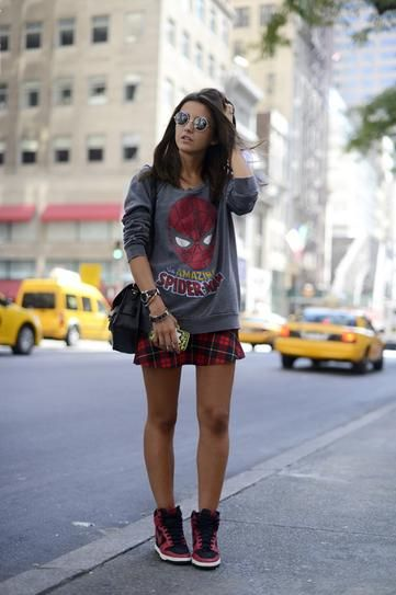 How To Wear Sneakers for Spring: 85 Street Style Photos | StyleCaster#_a5y_p=1476477#_a5y_p=1476477