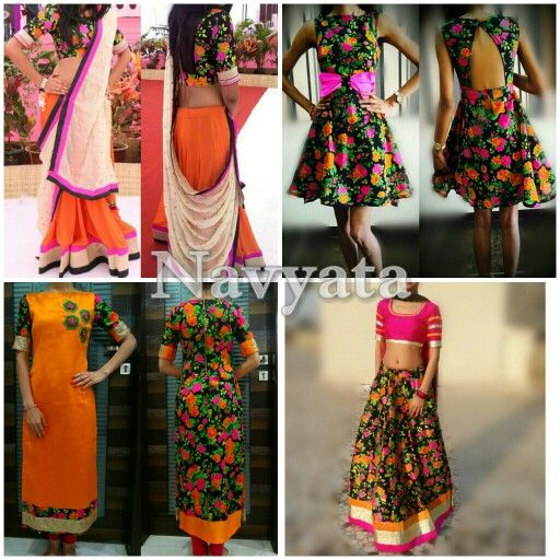Floral print in different styles. For further details contact us on +919892398900, +919930413660