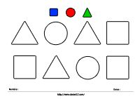 Colores y Formas Geométricas