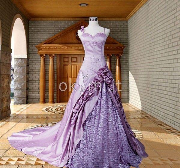 Abito Quinceanera Collo Asimmetrico Ball Gown Formale in Raso