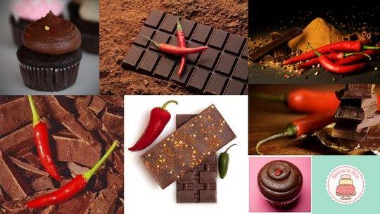Uma ganache de chocolate com pimenta é um modo bem interessante de incrementar a sua receita de favorita de bolo ou cupcake de chocolate.Esta ganache é perfeita para cobrir cupcakes e funciona super bem no saco de confeitar. É brilhante, lisa e deliciosa.