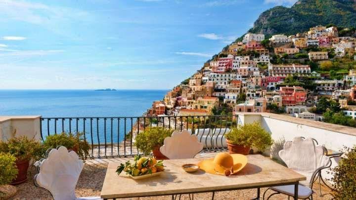 Elegante Hotel nel cuore di positano in Costiera Amalfitana con camere vista mare - Villa Rosa
