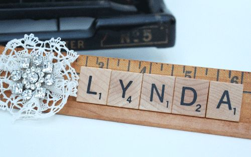 Not-so-corporate Desk Nameplate by Something Created Everyday blog