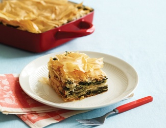 Yoga Journal - Spinach and Cheese Pie