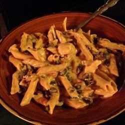 Sonora Chicken Pasta- my absolute favorite dish from Ruby Tuesdays- which they sadly got rid of .