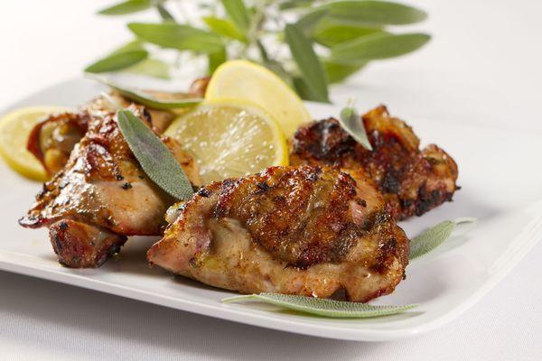 Lemon and Sage Grilled Chicken