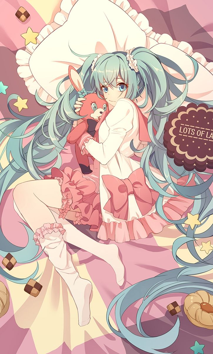 You don't touch my doll  Chara : Hatsune Miku  Anime : Vocaloid