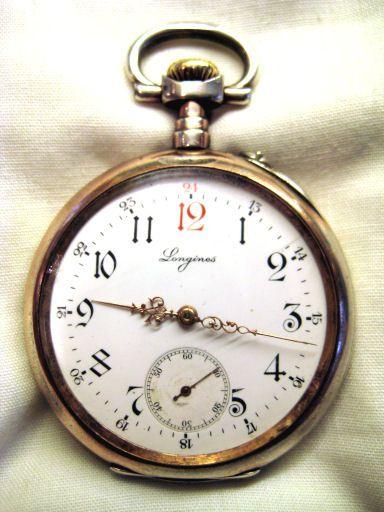 Longines Silver Pocket Watch c.1906