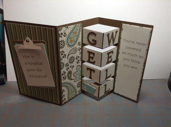 Funny get well card by stampgirl501 - Cards and Paper Crafts at Splitcoaststampers