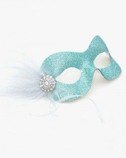 7fca22eebf19 Pastel Ice Blue Silver Pretty Sparkly Masquerade Eye Mask (my eye mask to  match my dress, shoes and nails) | masks | Silver masquerade mask, Blue  masquerade ...