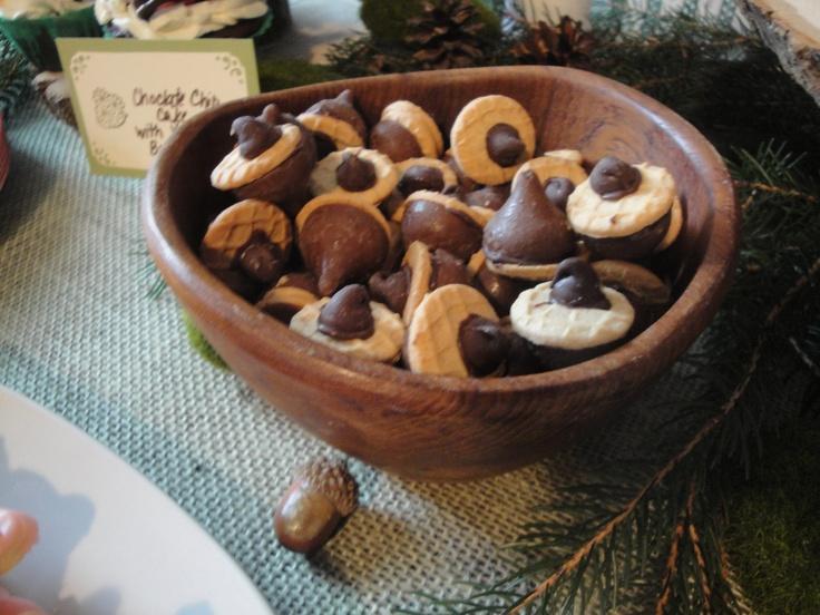 Fairy party: acorns