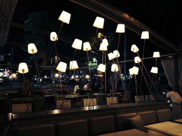 Cafe Cadde Istanbul  Lighting design by Etik ve Teknik
