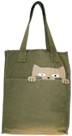 inspiration: cat tote via alternative outfitters