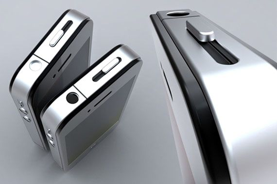 the only way I'd associate with apple... lol iFlask: Looks Like An iPhone, Is A Flask