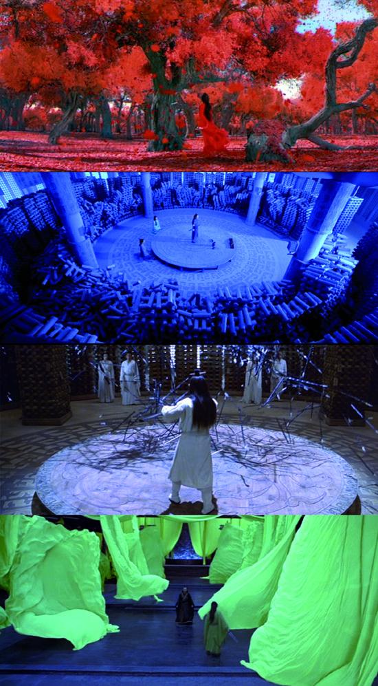 Hero (Zhang Yimou, 2002). Rashomon Effect. Narrative told from different viewpoints.