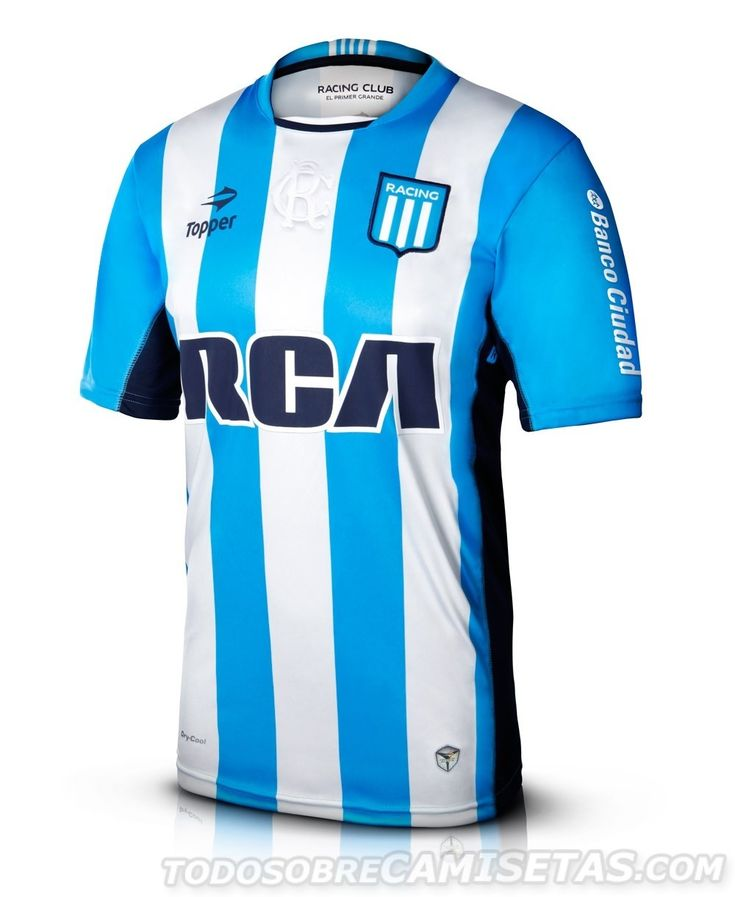 Camiseta Topper de Racing Club 2016
