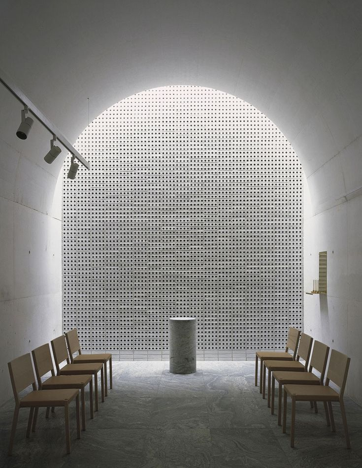 The New Crematorium at The Woodland Cemetery, Stockholm, Sweden by Johan Celsing Arkitektkontor | Yellowtrace