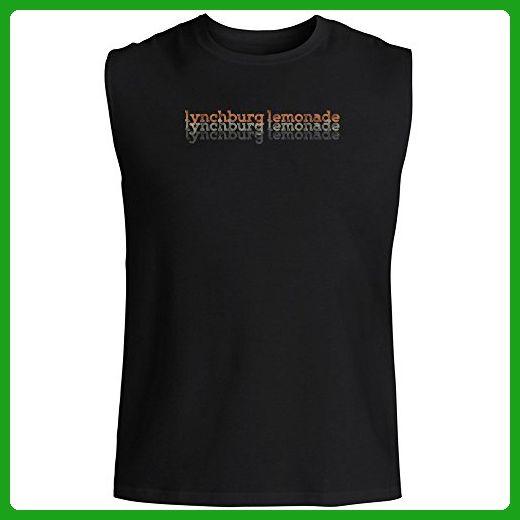 Idakoos - Lynchburg Lemonade repeat retro - Drinks - Sleeveless T-Shirt - Retro shirts (*Amazon Partner-Link)