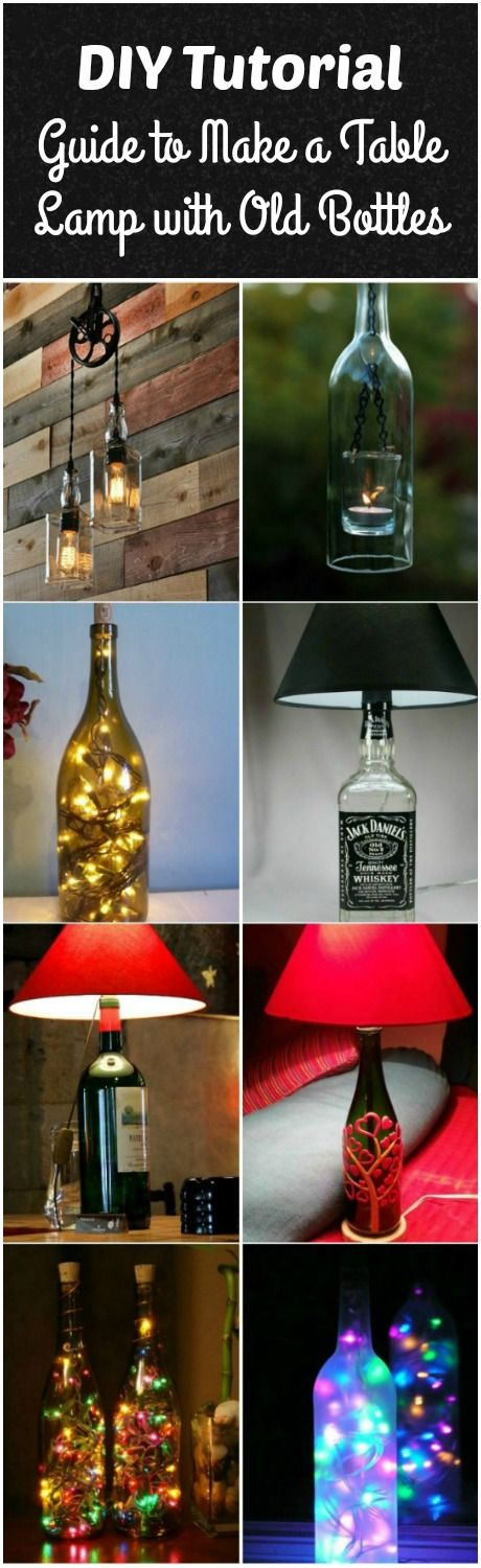 DIY+Bottle+Lamp:+Make+a+Table+Lamp+with+Recycled+Bottles+via+@idlights