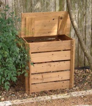 Small Compost Bin By Audrey Garden Dreams Pinterest