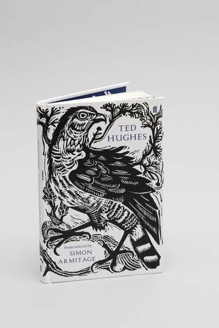 Faber 80th Poetry Series - book illustration by Mark Hearld, design by Miriam Rosenbloom (Faber & Faber)