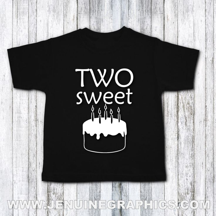 A personal favorite from my Etsy shop https://www.etsy.com/ca/listing/474190548/second-birthday-shirt-two-sweet-tshirt