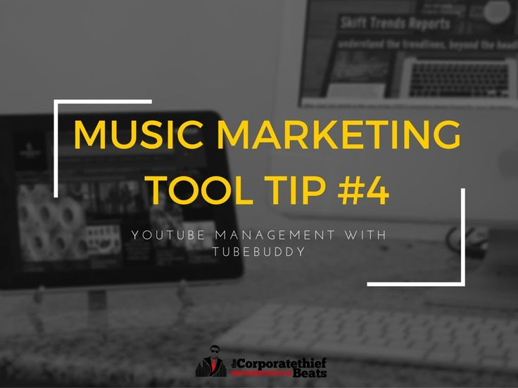 Music Marketing Tool Tip #4 With Tubebuddy