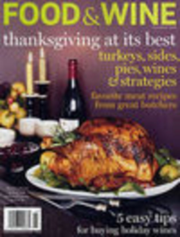 When we talked to Food & Wine Magazine editor in chief Dana Cowin about the November 2008 issue of the magazine, we asked her what her favorite Thanksgiving recipes from the issue were. This is one of them. More of...