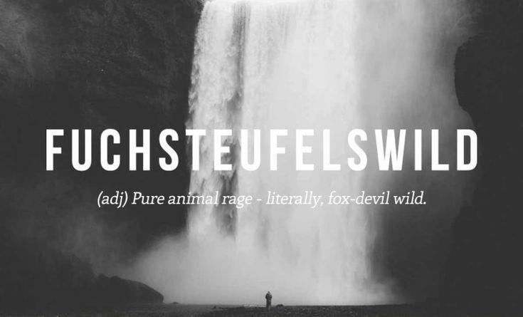 Lustige Deutsche Wörter