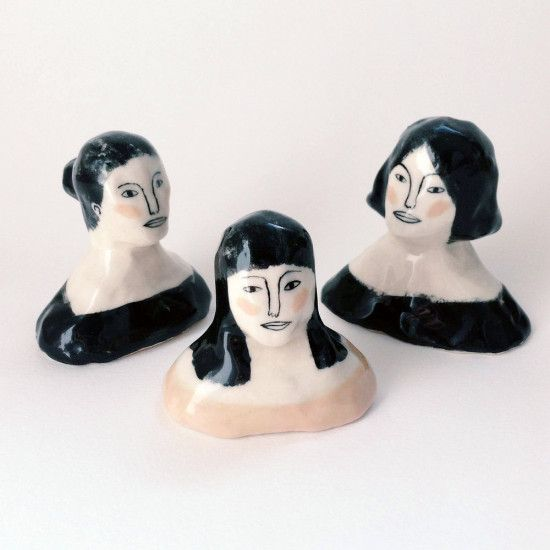 Ceramics time! Clay creations by Jen Collins, posted on the blog today: http://www.artisticmoods.com/jen-collins/