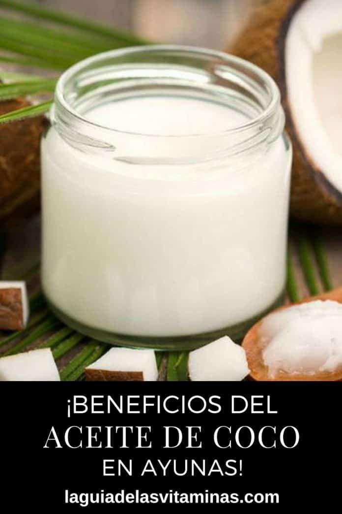 Tomar aceite de coco en ayunas para adelgazar