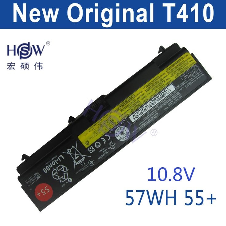 HSW original LAPTOP battery 10.8V 57WH FOR Lenovo ThinkPad E40 L512 T410 E50 E420 L520 E425 SL410 T420 E520 T510 E525 bateria #Affiliate