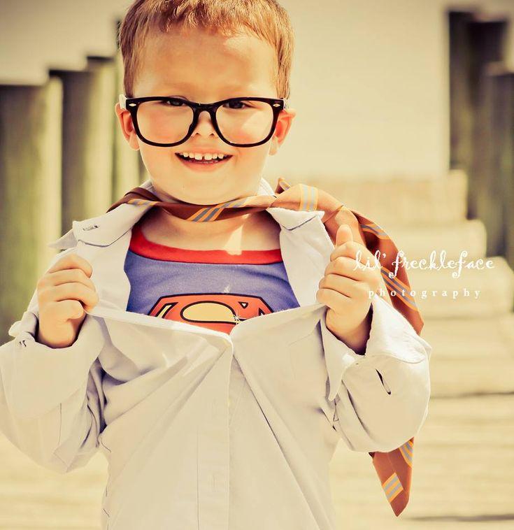 superhero children's photography