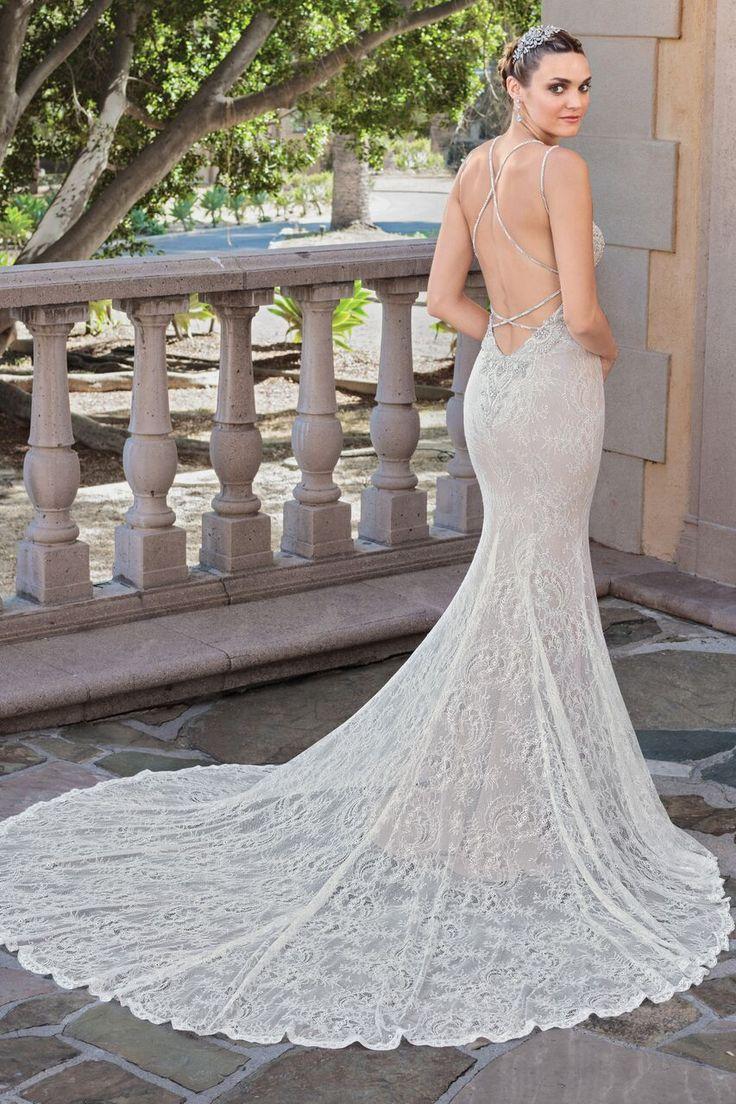 Elegantly Classic Casablanca Wedding Dresses Villa del Sol Collection - MODwedding