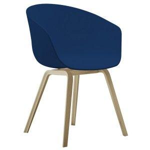 Chaise Hay About a Chair bleu et bois    http://www.ideesboutique.com/chaises/8403-chaise-hay-about-a-chair-bleu-et-bois.html