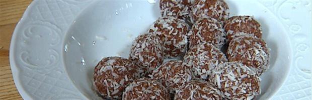 Vanilje-havregrynskugler
