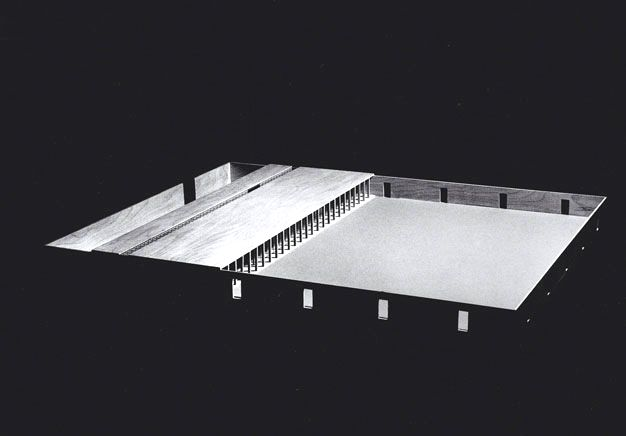 Monestiroli Associated Architects  Project for a nursery, Segrate, Italy, 1972