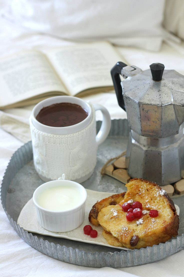 French toast con panettone