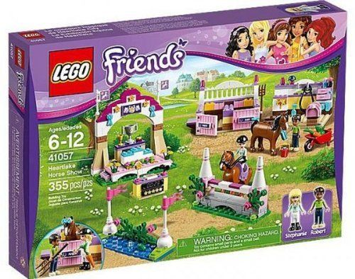 Amazon.com: LEGO Friends Set #41057 Heartlake Horse Show by LEGO: Toys & Games