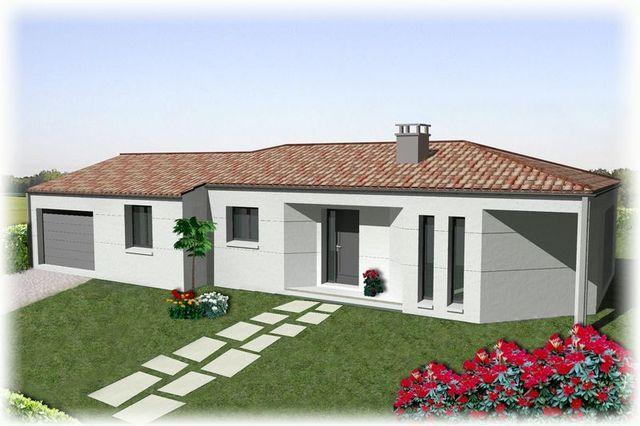 maison contemporaine vendée - Constructeur Maison Vendée