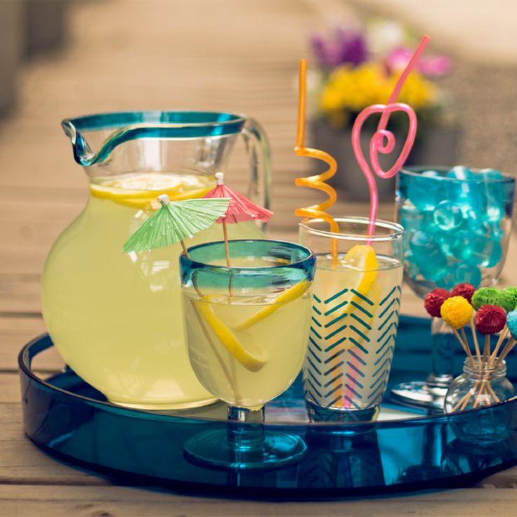 Este verano disfruta al máximo tu terraza! Prepara una rica limonada y compártela con quien más quieras. Anímate! Verano 2016
